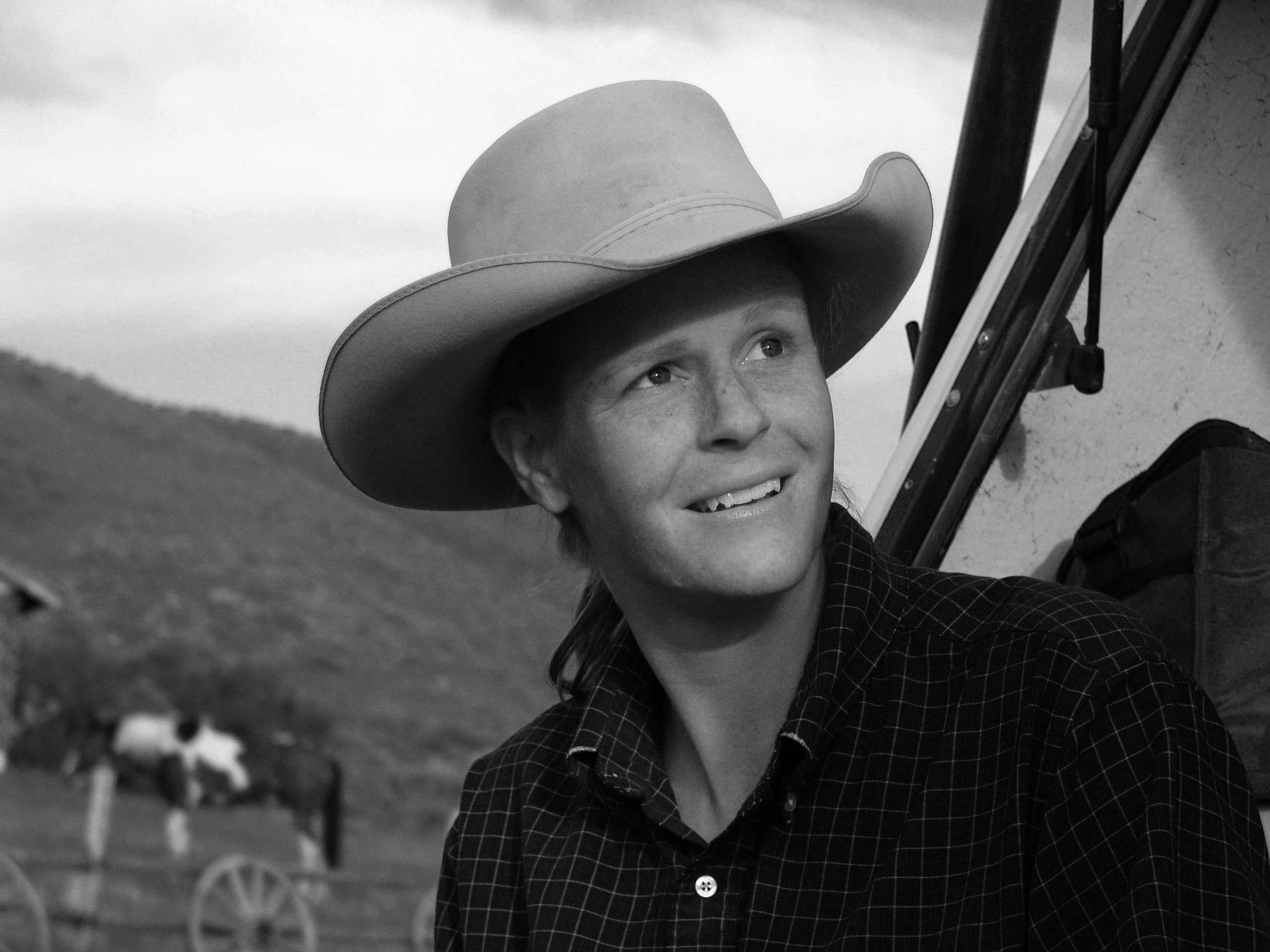 Becky Prunty, Rancher, Charlston, Nevada, 2002