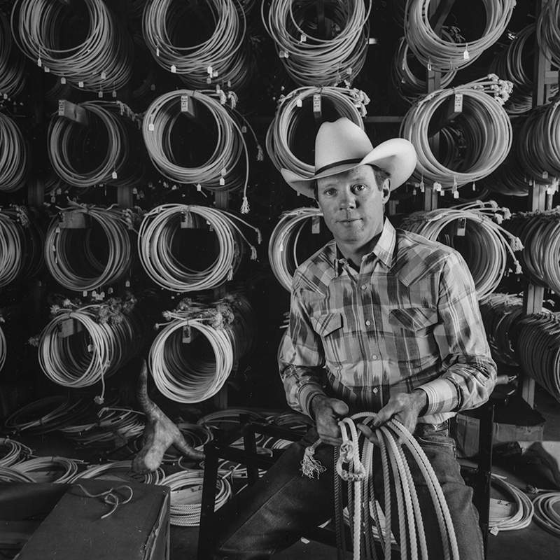 Bob King, Rope Maker, Sheridan, Wyoming, 1992