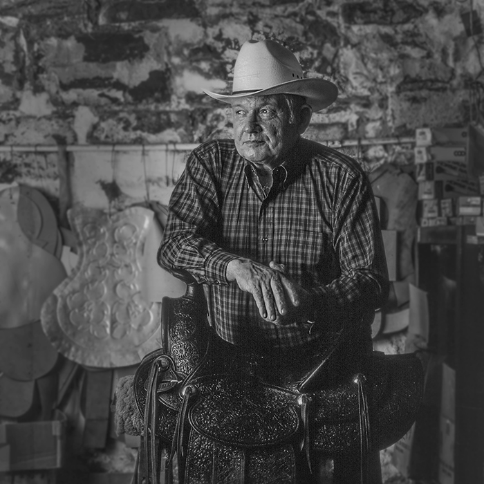 Don King, Saddlemaker, Sheridan, Wyoming 2002