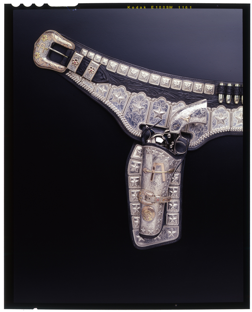 Edward H. Bohlin, Hollywood -  Silver-mounted Buscadero-pattern gun belt