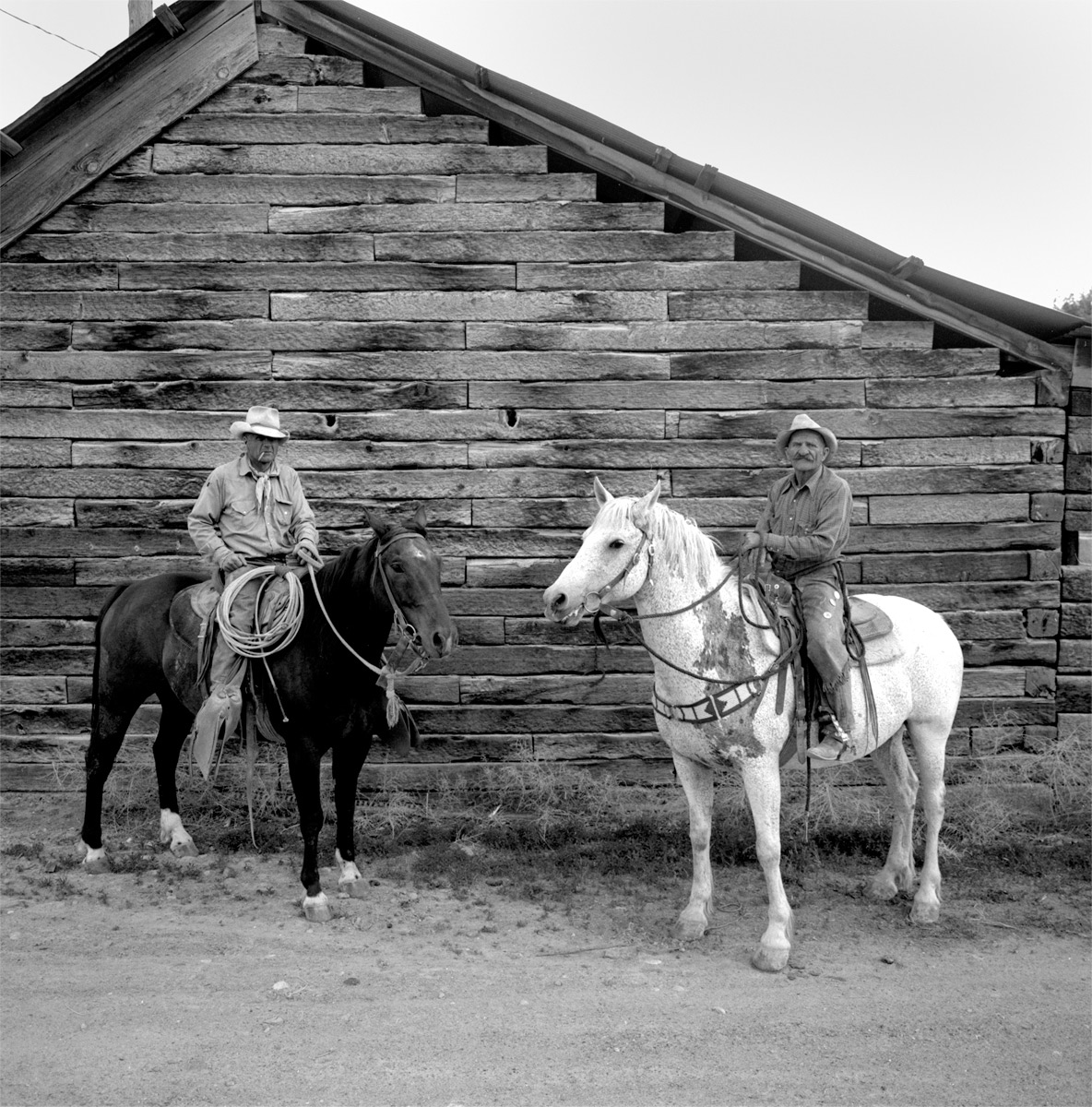 John Adamson and Fritz Merek,  TS Ranch, NV