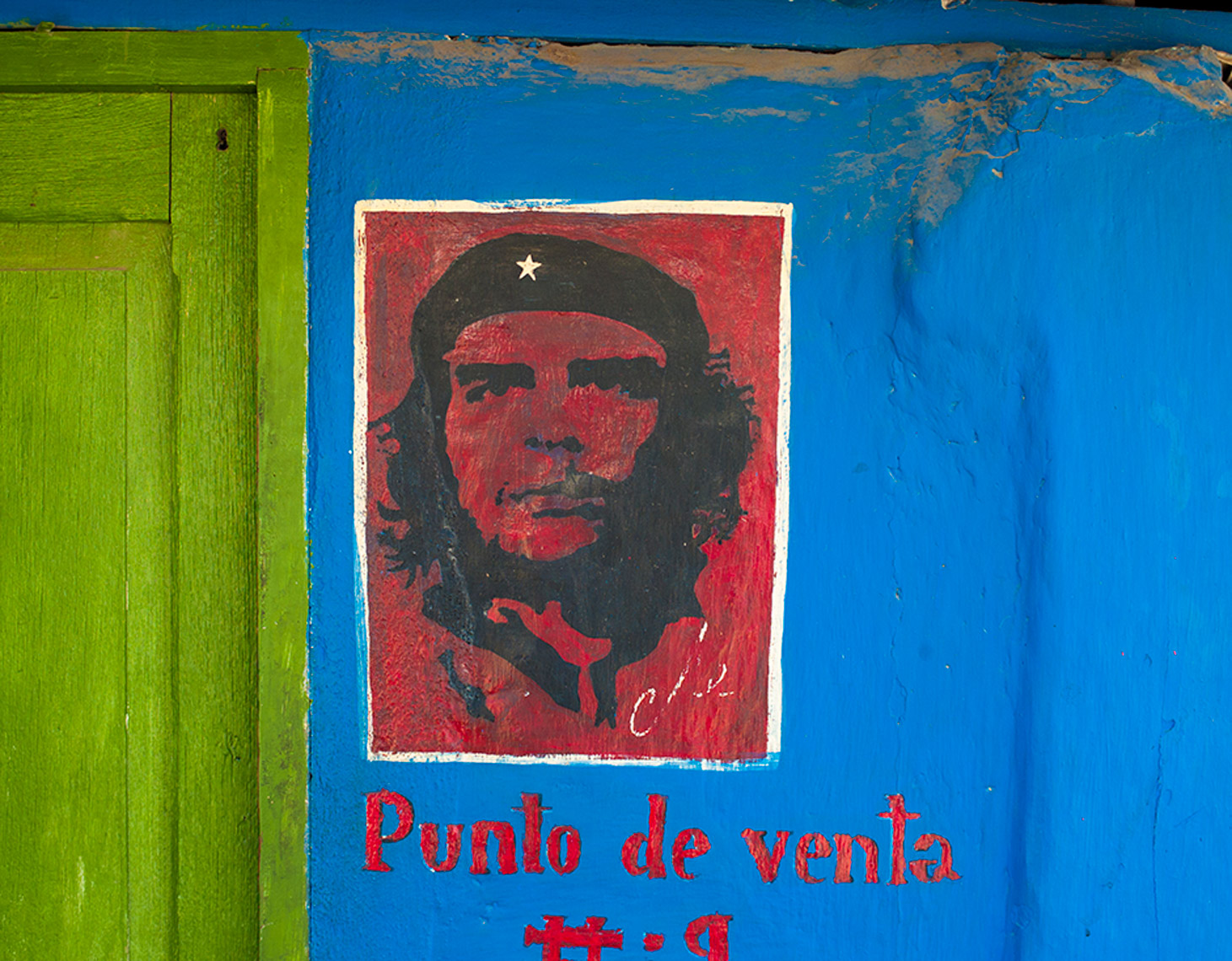 Che wall painting