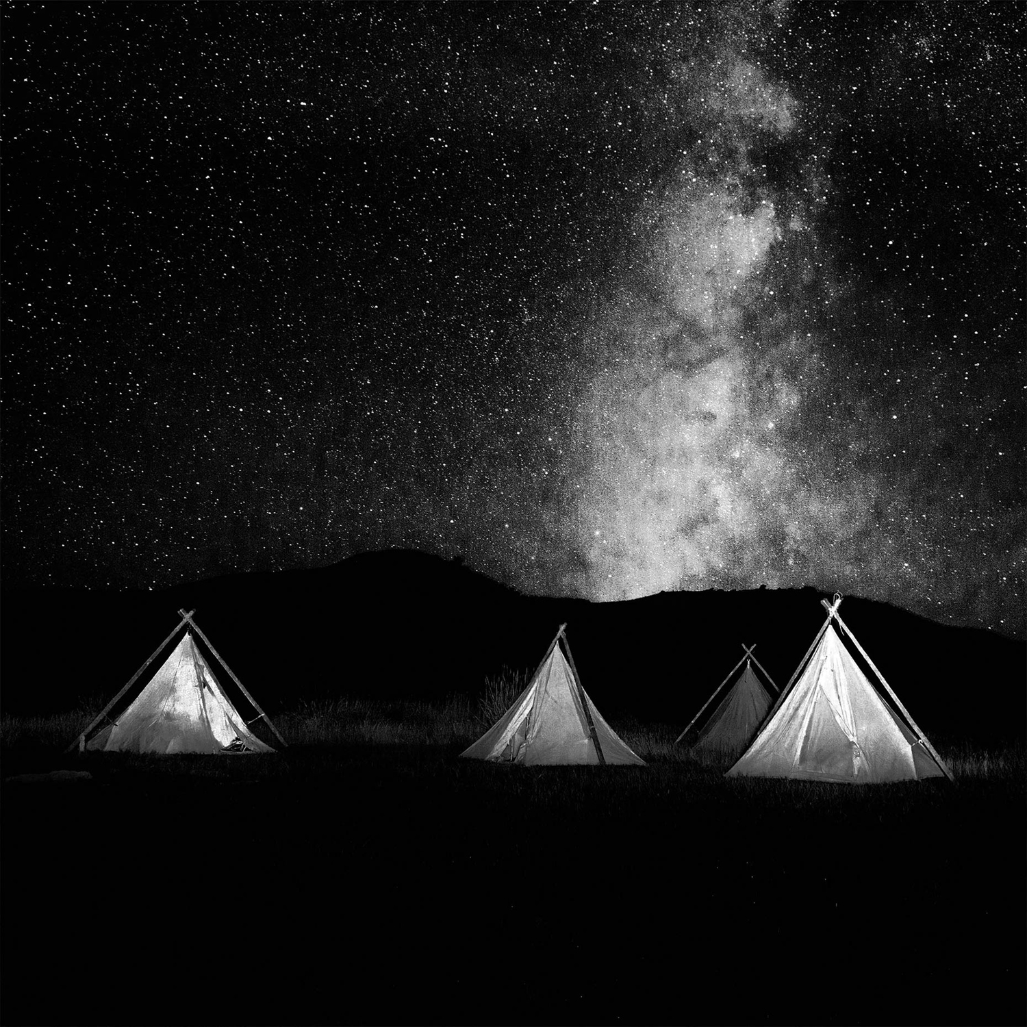 Cowboy Teepees, Willow Creek Ranch, Wyoming
