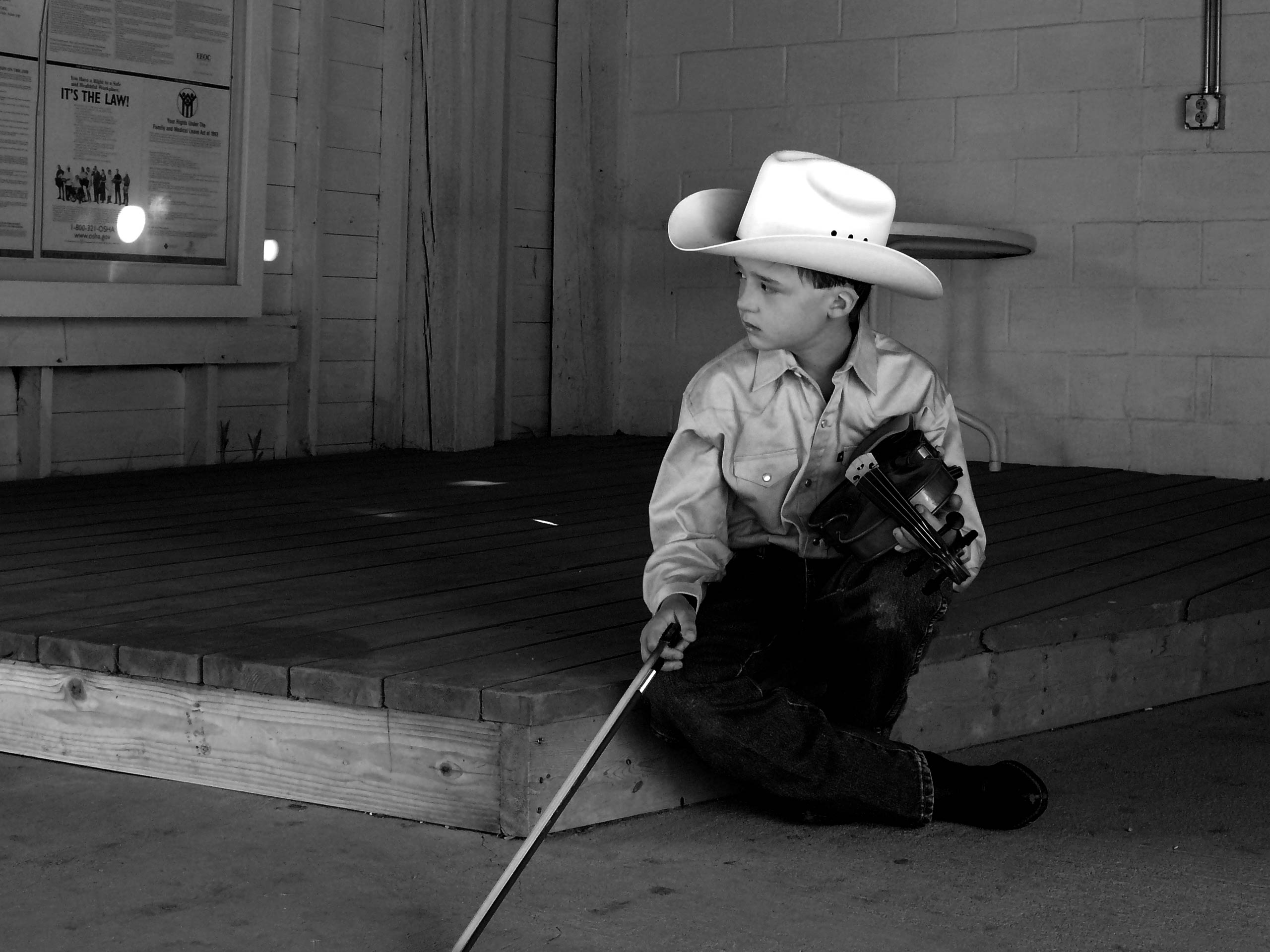 Jacob Jahiel, FiddleContestant, Buffalo, Wyoming, 2012