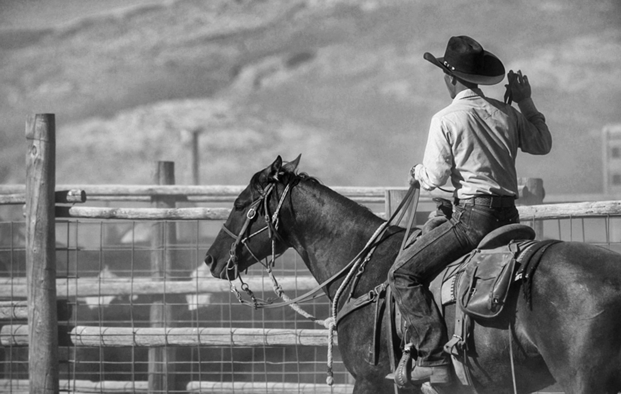 Barry Crago, Willow Creek Ranch Barn, Willow Creek Ranch, Wyoming