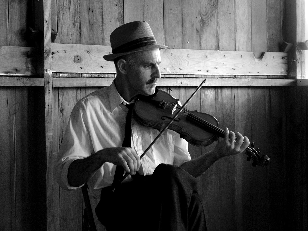 Fiddler, Buffalo, Wyoming, 2012