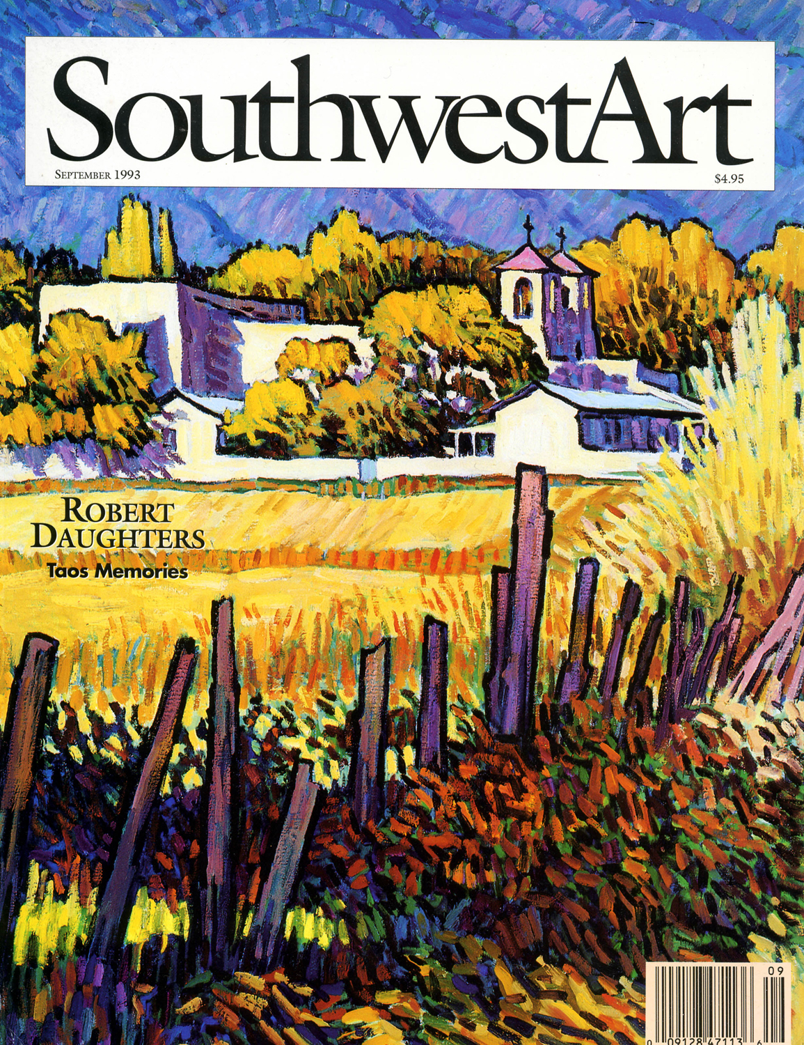 Southwest Art Magazine - 1993